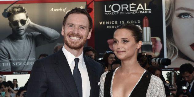 L'acteur britannique et la comédienne suédoise présents tous deux à Venise en