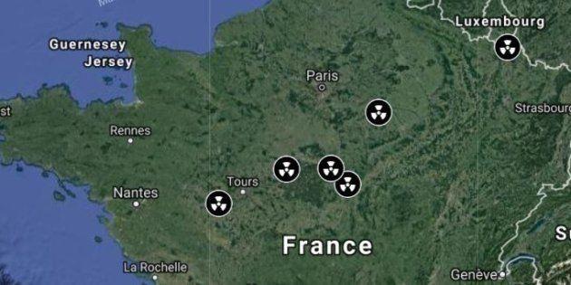 La carte des 20 réacteurs nucléaires à la merci d'un tremblement de terre près de chez