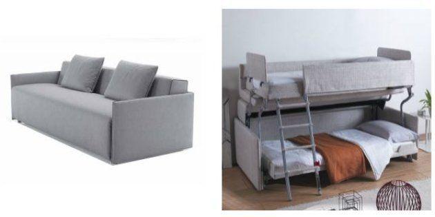 Ce canapé peut vous faire gagner un espace non négligeable dans votre