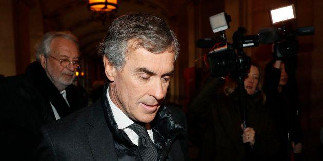 Jérôme Cahuzac à Paris le 8 décembre