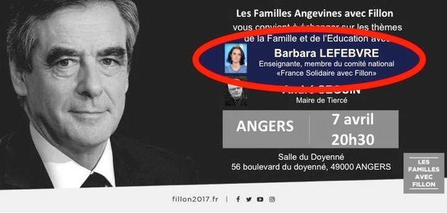 Face à Macron, la professeure d'histoire nie soutenir François Fillon. Et