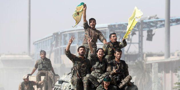 Daech chassé de Raqqa, son dernier fief en