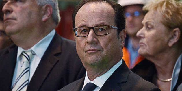 François Hollande avait été prévenu avant les frappes en
