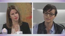 Pour sa première télé, Valérie Nahmias affiche son soutien à François
