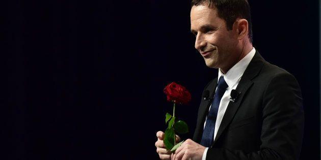Benoît Hamon, candidat du parti socialiste pour la présidentielle, le 5 avril
