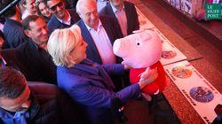Entre deux tours de manèges, Marine Le Pen flirte avec les