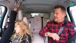 Jeté de jambe, twerk... Même en voiture, Madonna est d'une souplesse