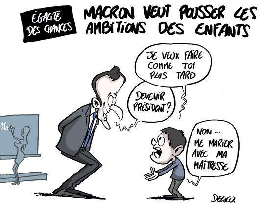 Pourquoi Emmanuel Macron est une source d'inspiration pour les