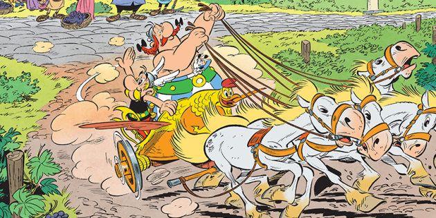 Astérix et la Transitalique sort aujourd'hui: Obélix a-t-il passé son permis de char pour le 37e