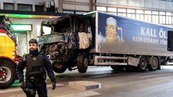 Un homme en garde à vue après l'attentat en Suède, il s'agirait du