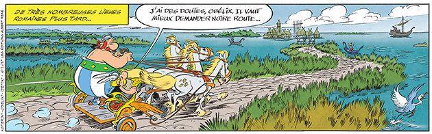 Astérix et la Transitalique sort aujourd'hui: Obélix a-t-il passé son permis de char pour le 37e album