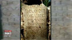 On a retrouvé une tombe romaine datant de l'an 54... enterrée à New