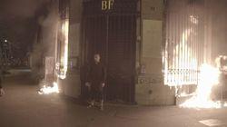 Mis en examen pour l'incendie de la Banque de France, l'artiste Piotr Pavlenski entame une grève de la