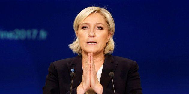 Marine Le Pen, à Bordeaux le 2