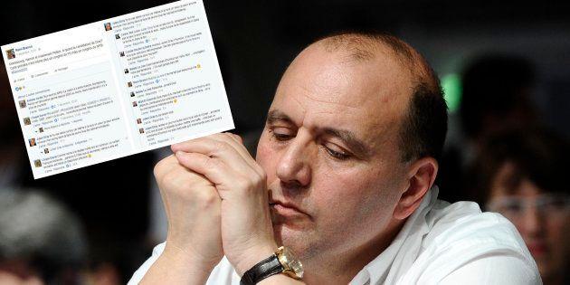 Dans une discussion sur Facebook, Julien Dray a menacé le directeur de cabinet de Stéphane Le Foll d'en...