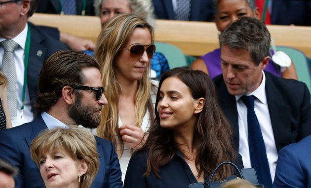 Le couple à Wimbledon en