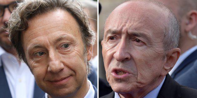 Gérard Collomb confirme avoir convoqué Stéphane Bern pour lui parler de Laurent