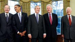 BLOG - 5 ex présidents américains se réunissent et voici comment ils ont marqué les