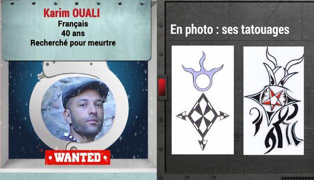 Capture d'une vidéo d'Europol décrivant le fugitif Karim