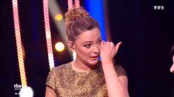 Sandrine Quétier émue aux larmes par la prestation d'Artus dans