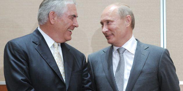 Rex Tillerson est une relation de longue date de Vladimir