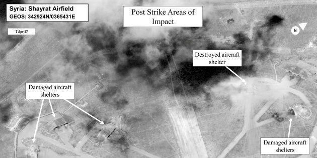 La frappe américaine a détruit 20% des capacités aériennes