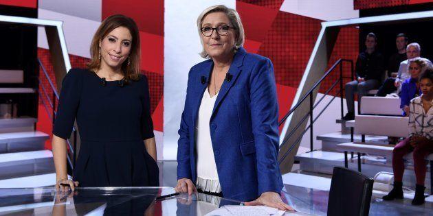 Marine Le Pen signe la pire audience de L'Emission