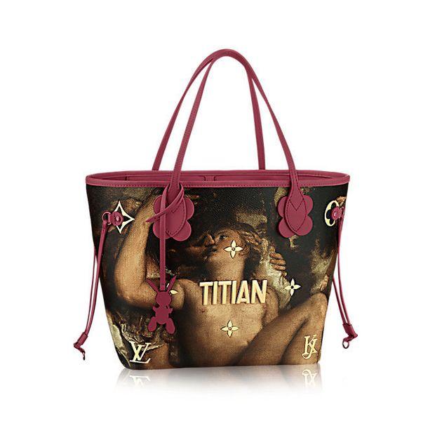 Jeff Koons recouvre les sacs Louis Vuitton d'œuvres