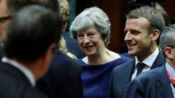 Macron n'a pas aimé la dernière offre de May pour solder le Brexit et lui a fait