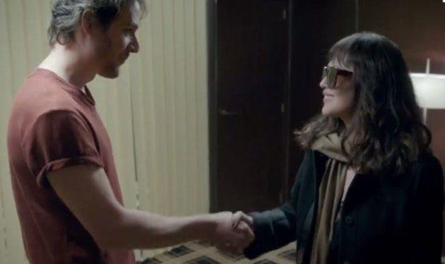 Les personnages de Sasha Hartman et Isabelle Adjani se rencontrent