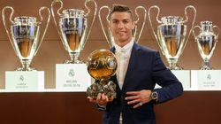 Cristiano Ronaldo remporte son 4e Ballon