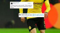 Les messages de soutien du monde du foot à Marc Bartra, blessé dans les explosions à