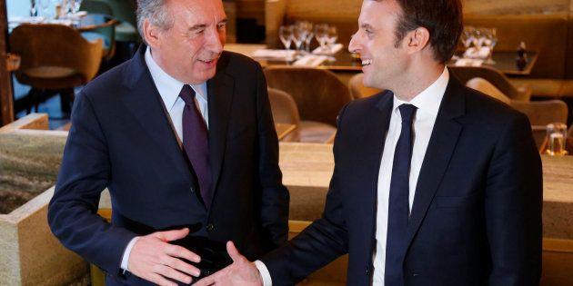 François Bayrou et Emmanuel Macron avaient scellé leur alliance dans un restaurant de l'ouest