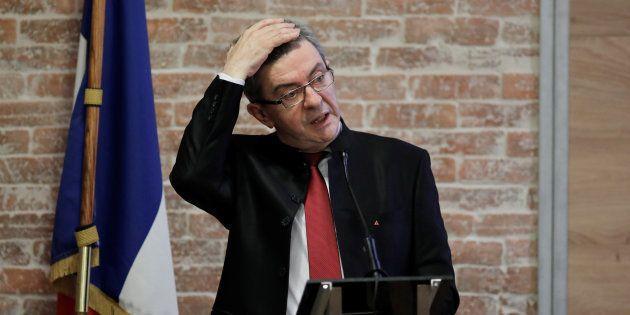 Jean-Luc Mélenchon le 21 mars dernier à