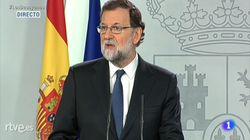 Rajoy annonce le recours à l'article 155 de la Constitution, permettant de suspendre l'autonomie de la