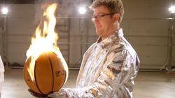 Ils ont reproduit les dunks enflammés du jeu