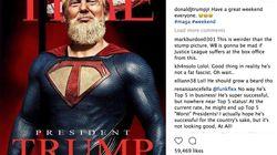 Donald Trump Jr. fait pleuvoir les moqueries avec ce montage de son père moulé dans un costume de