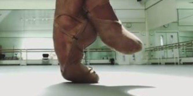 Les pieds du danseur Eric