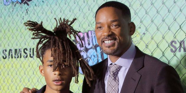 Jaden Smith et Will Smith à New York en août