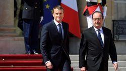 Macron qualifie Hollande de