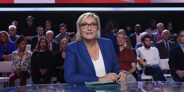 Marine Le Pen lors