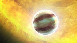 On a trouvé pour la 1ère fois des nuages sur une exoplanète (et ils pourraient bien être remplis de rubis et de