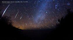 Pluie d'étoiles filantes ce mardi 13