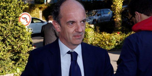 Thomas Clay, ici en Suisse dans sa mission de conseil de Michel Platini, est le président de la Haute...