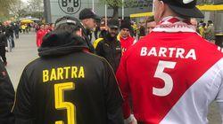 Gestes de solidarité à Dortmund pour le match sous haute tension face à