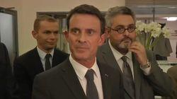 Valls s'énerve contre les journalistes: