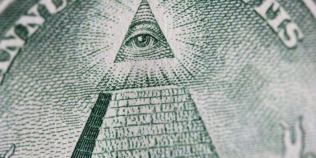 Le symbole illuminati, l'une des plus célèbres théories du complot