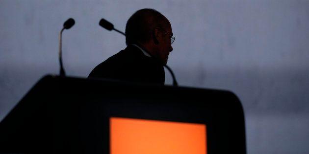Stéphane Richard, ex dircab de Christine Lagarde à Bercy et PDG d'Orange, grand absent du procès de l'affaire