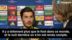 L'émouvante interview d'un joueur de Dortmund après le match de