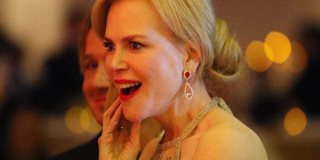Nicole Kidman le 26 février 2017 à